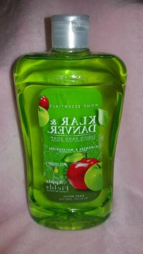 Klar & Danver Liquid Hand Soap Apple Fields. Easy Refill 23o