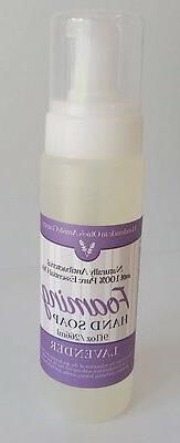 Lavender Foaming Hand Soap Sanitizer All Natural Anti-Bacter