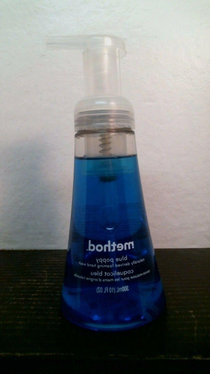 Method 01307 Blue Poppy Foaming Hand Soap, FREE SHIPPING
