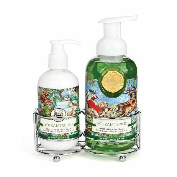 Michel Design Works CHRISTMAS JOY Foaming Hand Soap & Lotion