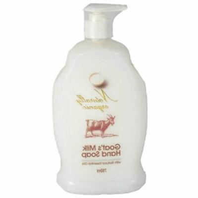NATURALLY ORGANIC GOAT'S MILK HAND SOAP 750ML TOP QUALITY FO