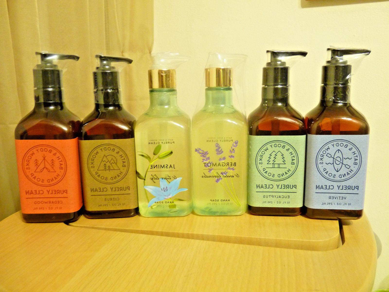 New Bath & Body Works Hand Soap PURELY CLEAN Vegan 10 floz /