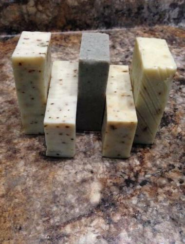 Organic Natural Hand Made Olive Oil Soap With Dead Sea Mud 1
