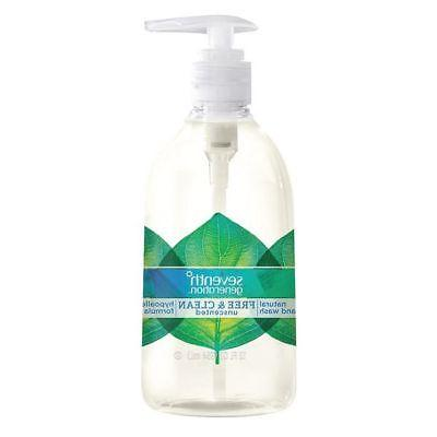 SEVENTH GENERATION 20 oz. Unscented Liquid Hand Soap SEVENTH