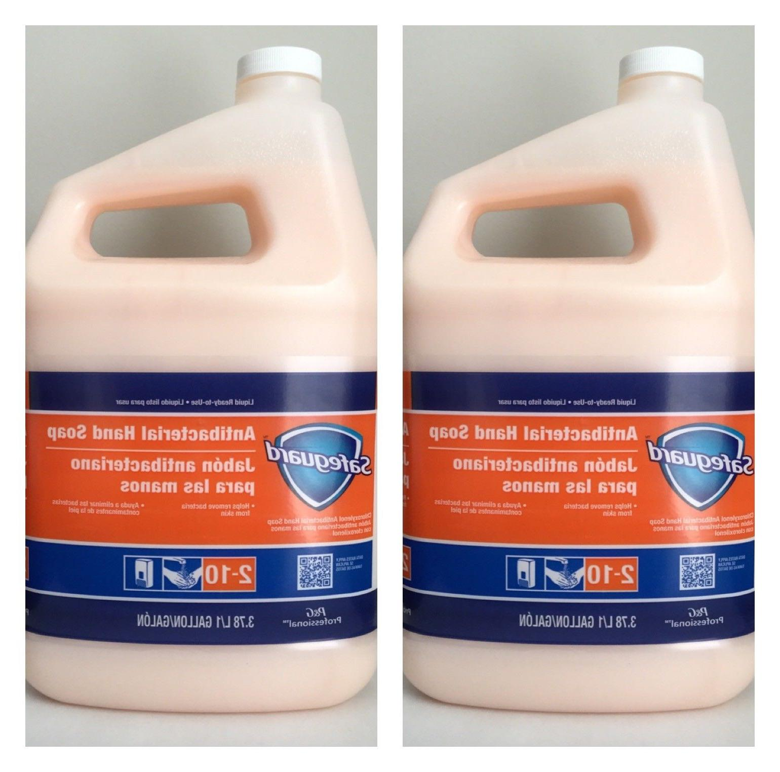 Safeguard Antibacterial Hand Soap Liquid 2 x 1-Gallon = 2 Ga