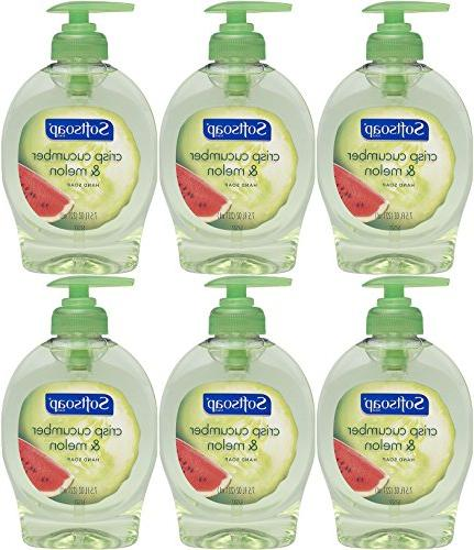 Softsoap Hand Soap Fruit Essentials Antibacterial, Crisp Cuc