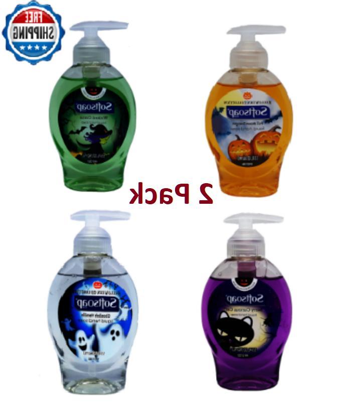 Softsoap Hand Soap Liquid Set Limited Edition 5.5oz Hallowee
