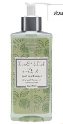 Softsoap Liquid Hand Soap, Wild Basil and Lime, 10 Ounce