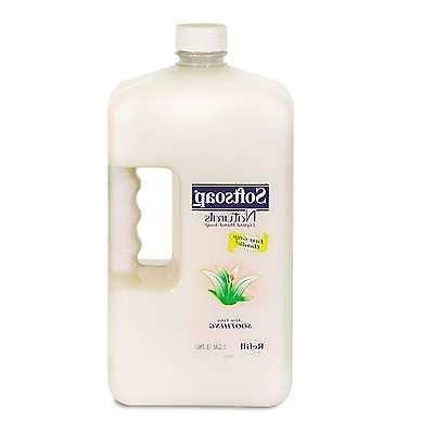 Softsoap Naturals Aloe Vera Moisturizing Liquid Hand Soap Re