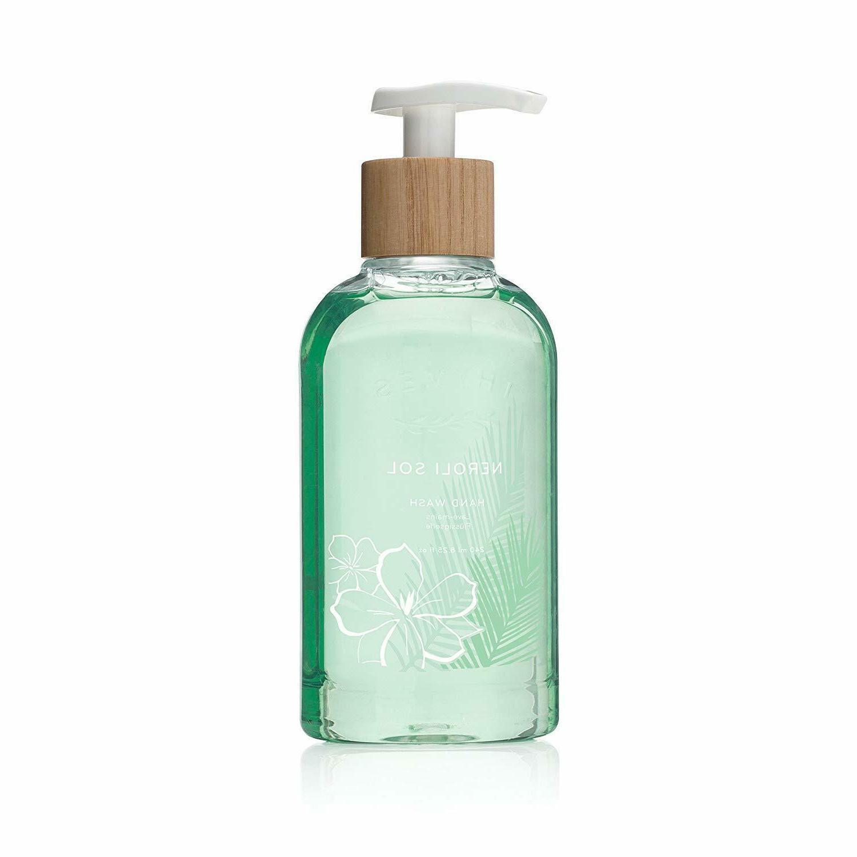 Thymes - Neroli Sol Hand Wash with Pump - Hydrating Liquid H