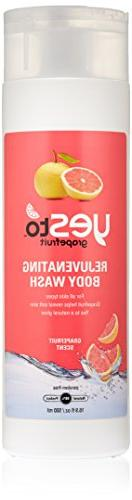 Yes To Grapefruit Rejuvenating Body Wash, 16.9 Fluid Ounce