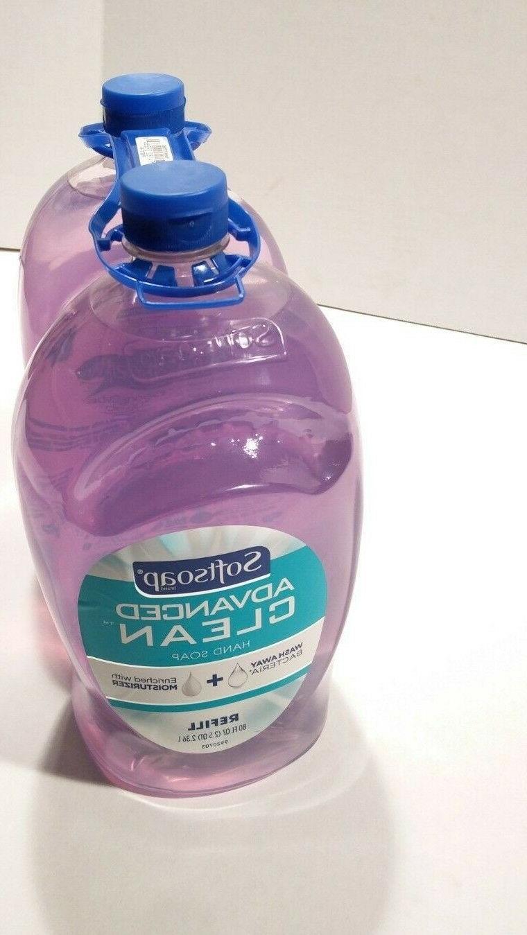 advanced clean hand soap 80 oz 2