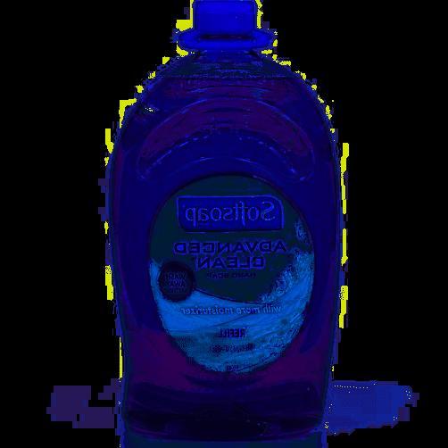 advanced clean hand soap refill 80oz