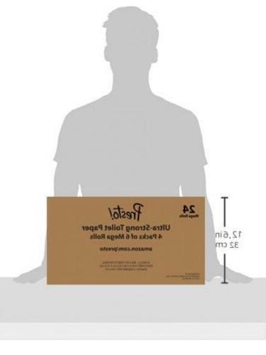 Amazon 308-Sheet Mega Toilet Paper, Ultra-Strong, 24