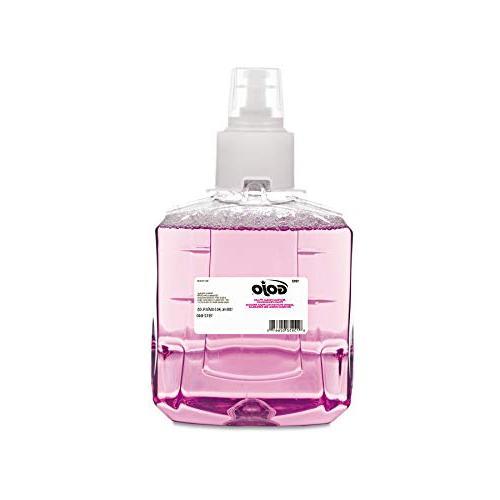 Gojo 191202CT Antibacterial Foam Handwash, Refill, Plum, 1,2