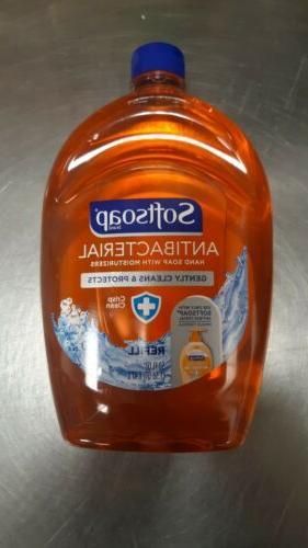 antibacterial hand soap 50 oz refill crisp