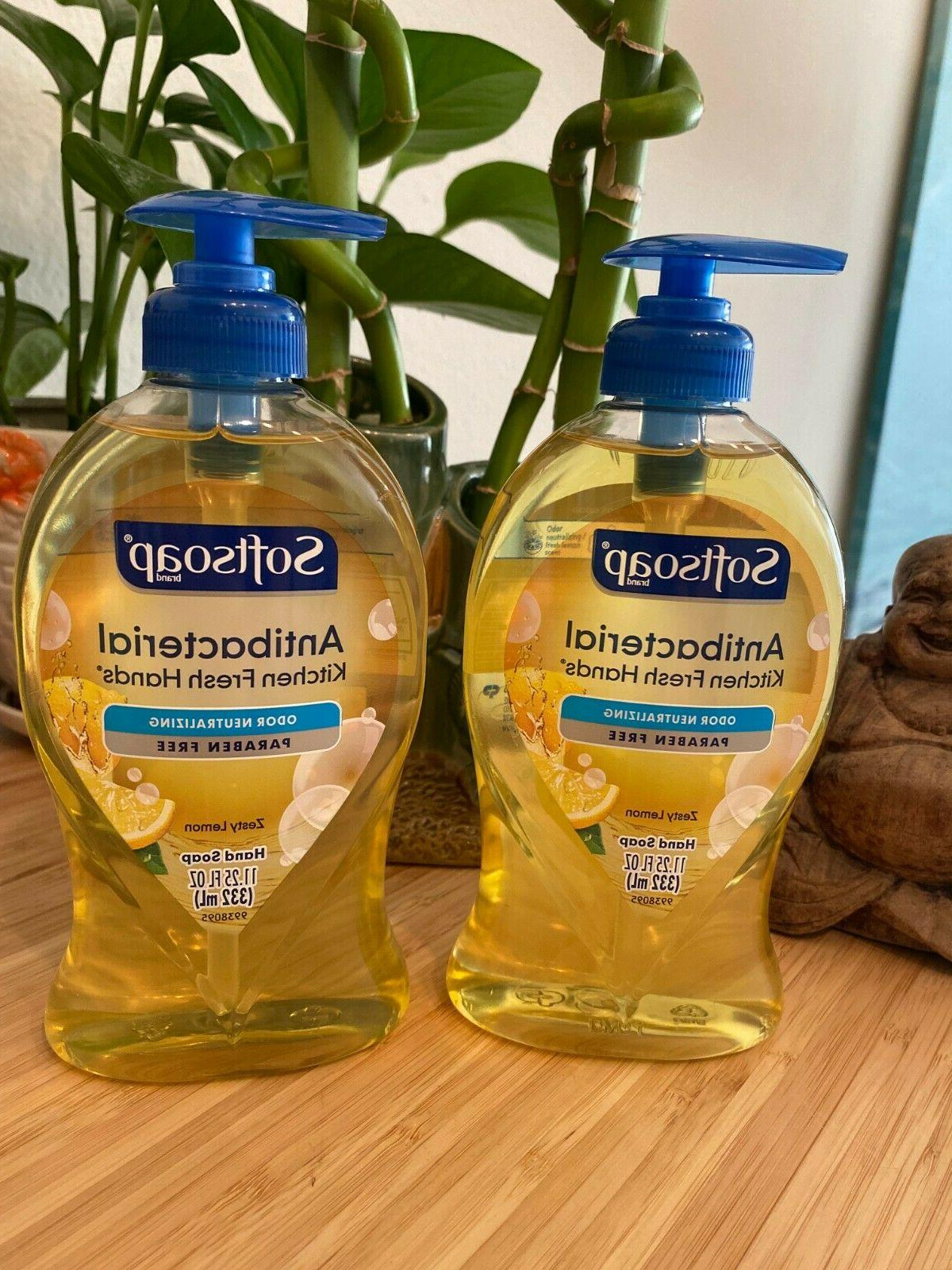 Softsoap Antibacterial Hand Soap with Moisturizers Fresh Cit