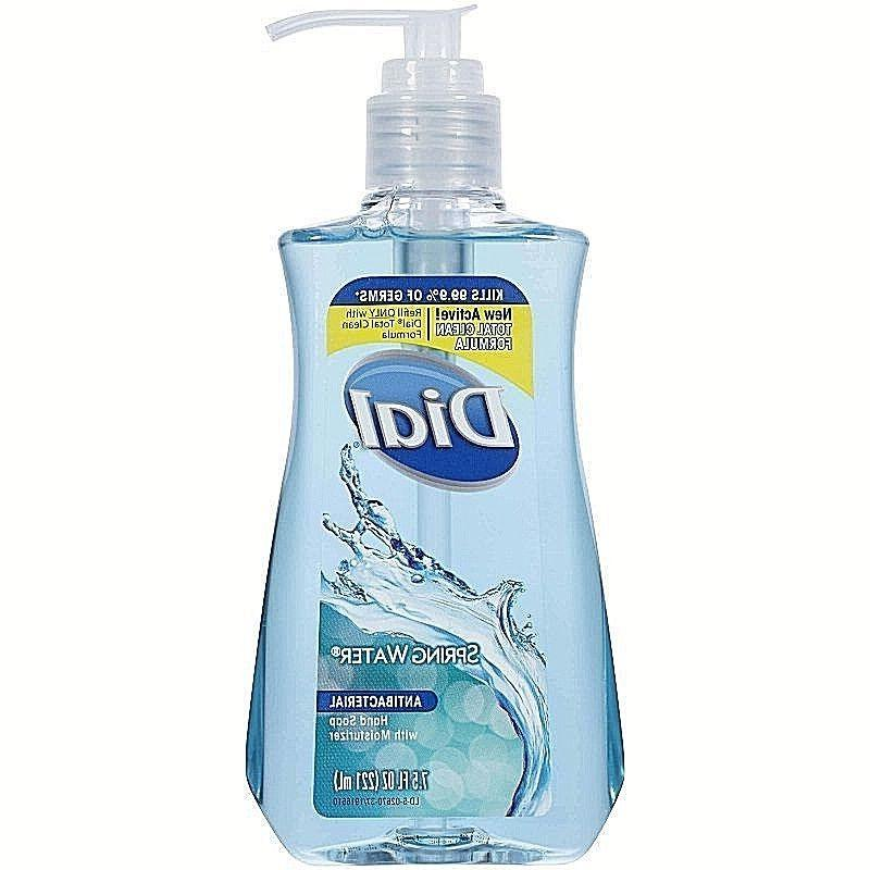 antibacterial hand soap with moisturizer dispenser spring