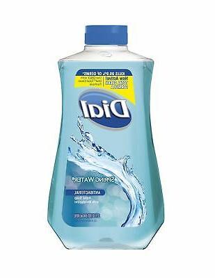 Dial Antibacterial Liquid Hand Soap Refill Spring Water 32 F