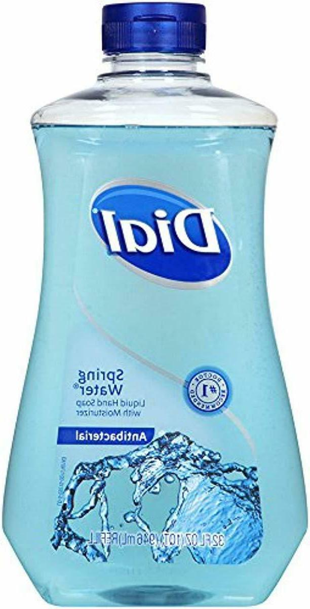 Antibacterial Refill with Spring Water, NEW!