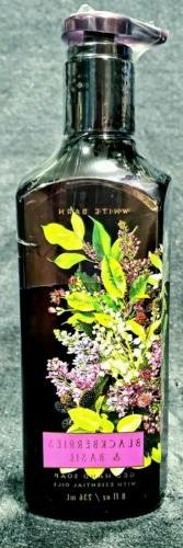 Bath & Body Works ~Blackberries & Basil~ Gel Hand Soap w/ Es