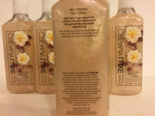 Bath & Body Creamy Luxe Hand Warm Vanilla Sugar oz, Lot