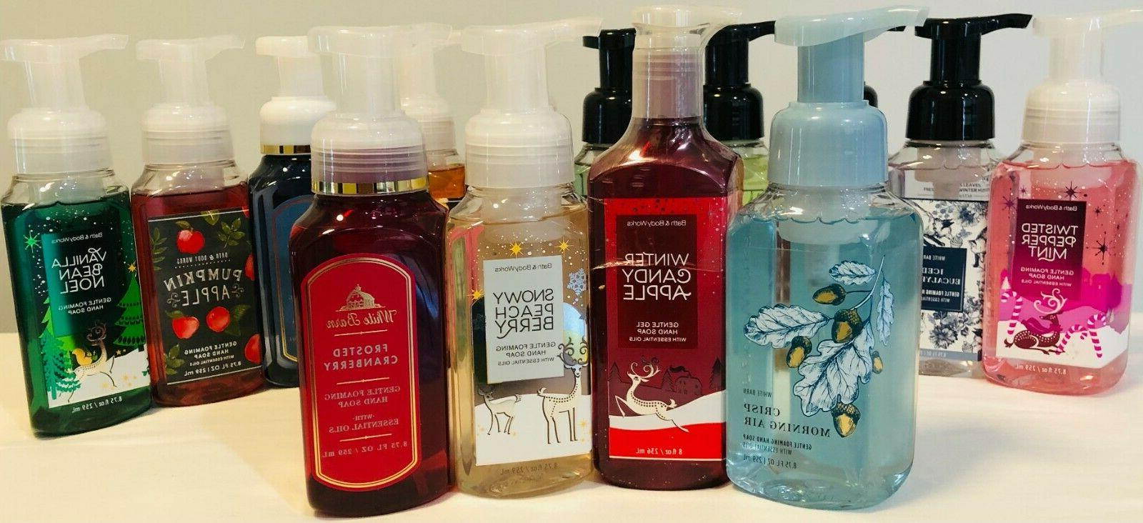 bath and body works hand soap holiday