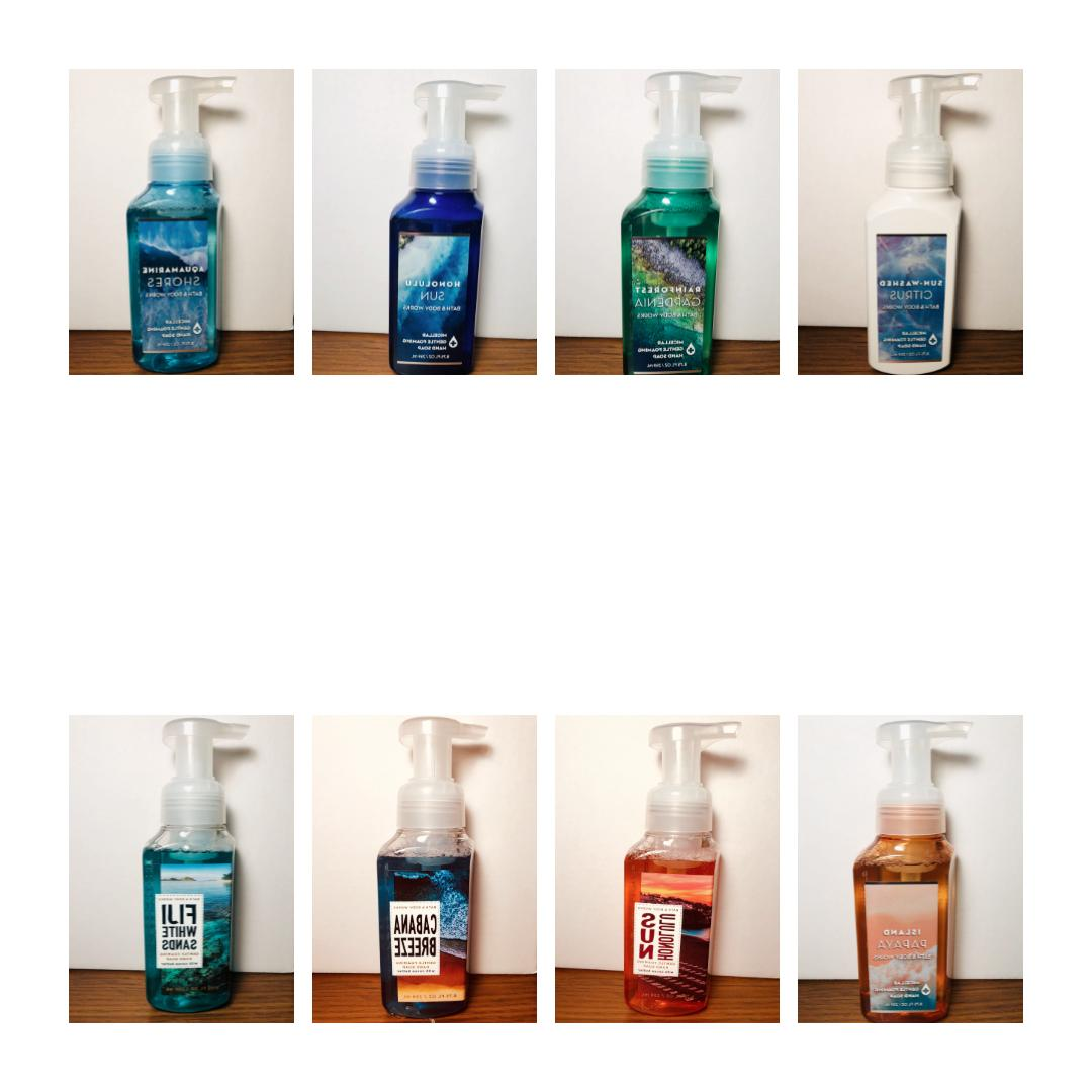 Bath and Body Hand Cleaning Choose