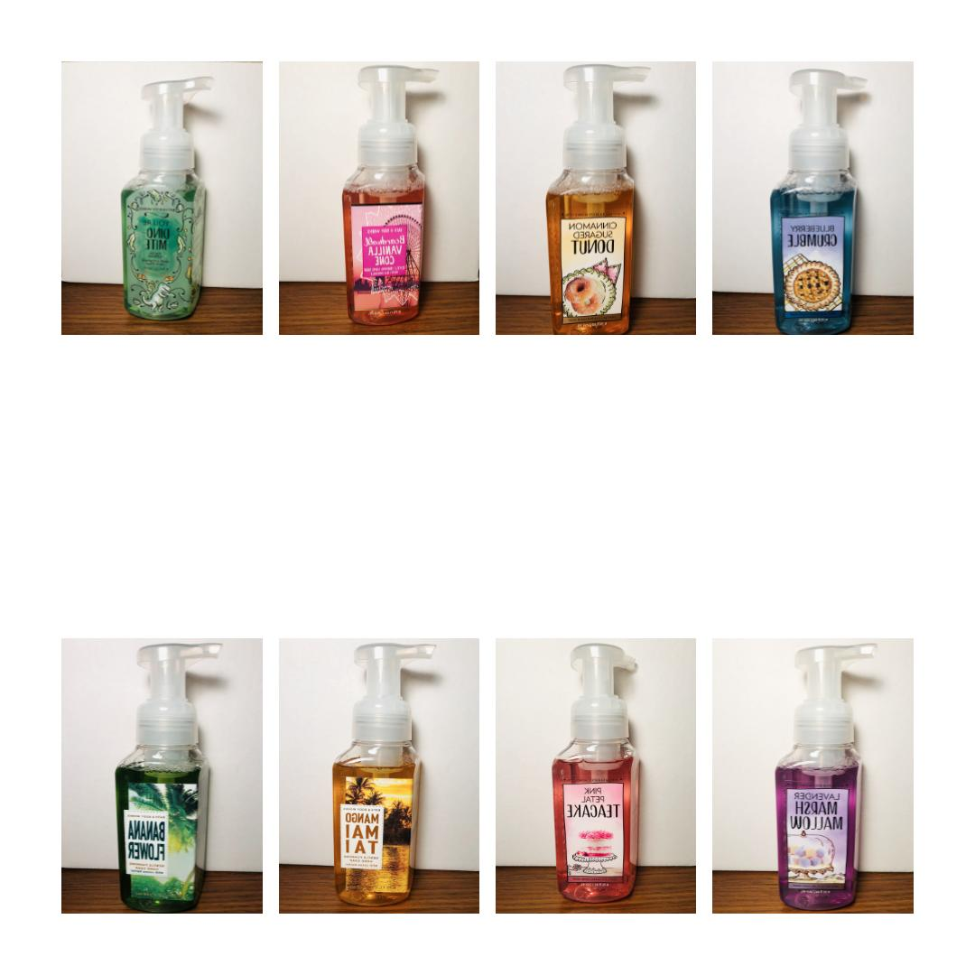 bath and body works hand soap singles