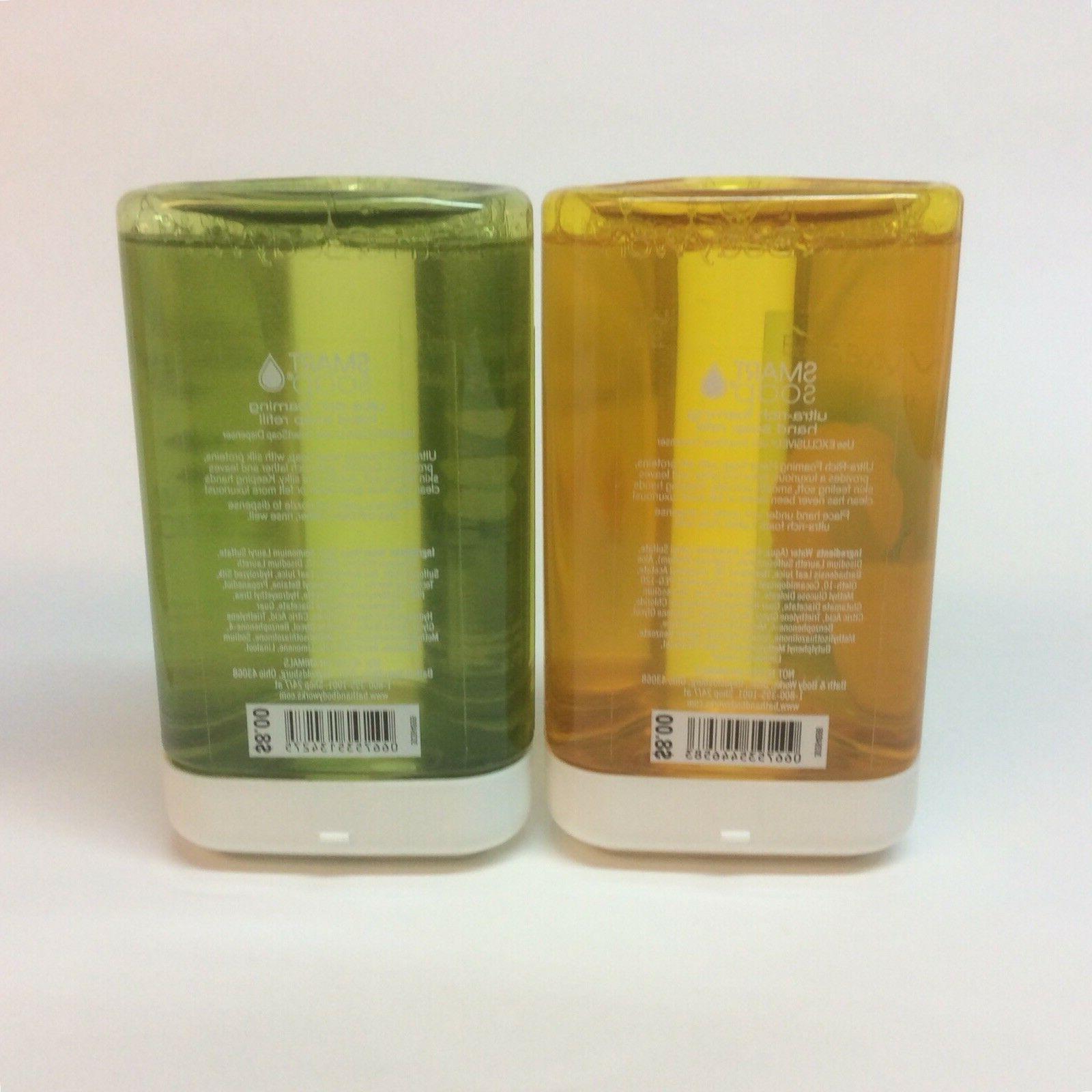 Bath Works Smartsoap Hand Soap Lemon Citrus Apple Peppermint