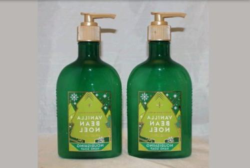 bath and body works vanilla bean noel