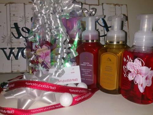 White Hand Soap Gift Lot Of