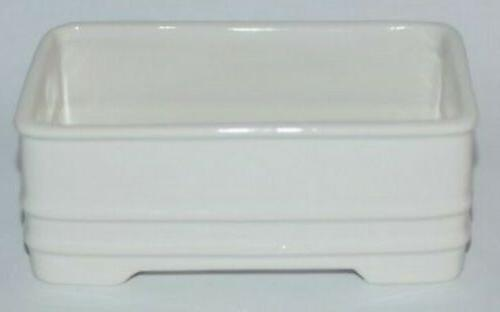 BATH & BODY WORKS WHITE CERAMIC FOAMING HAND SOAP Dish SLEEV