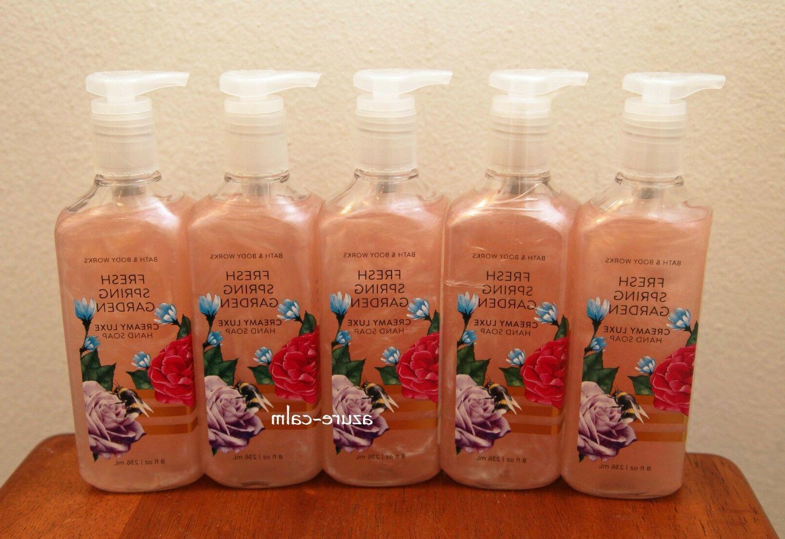 bath body works fresh spring garden 8oz