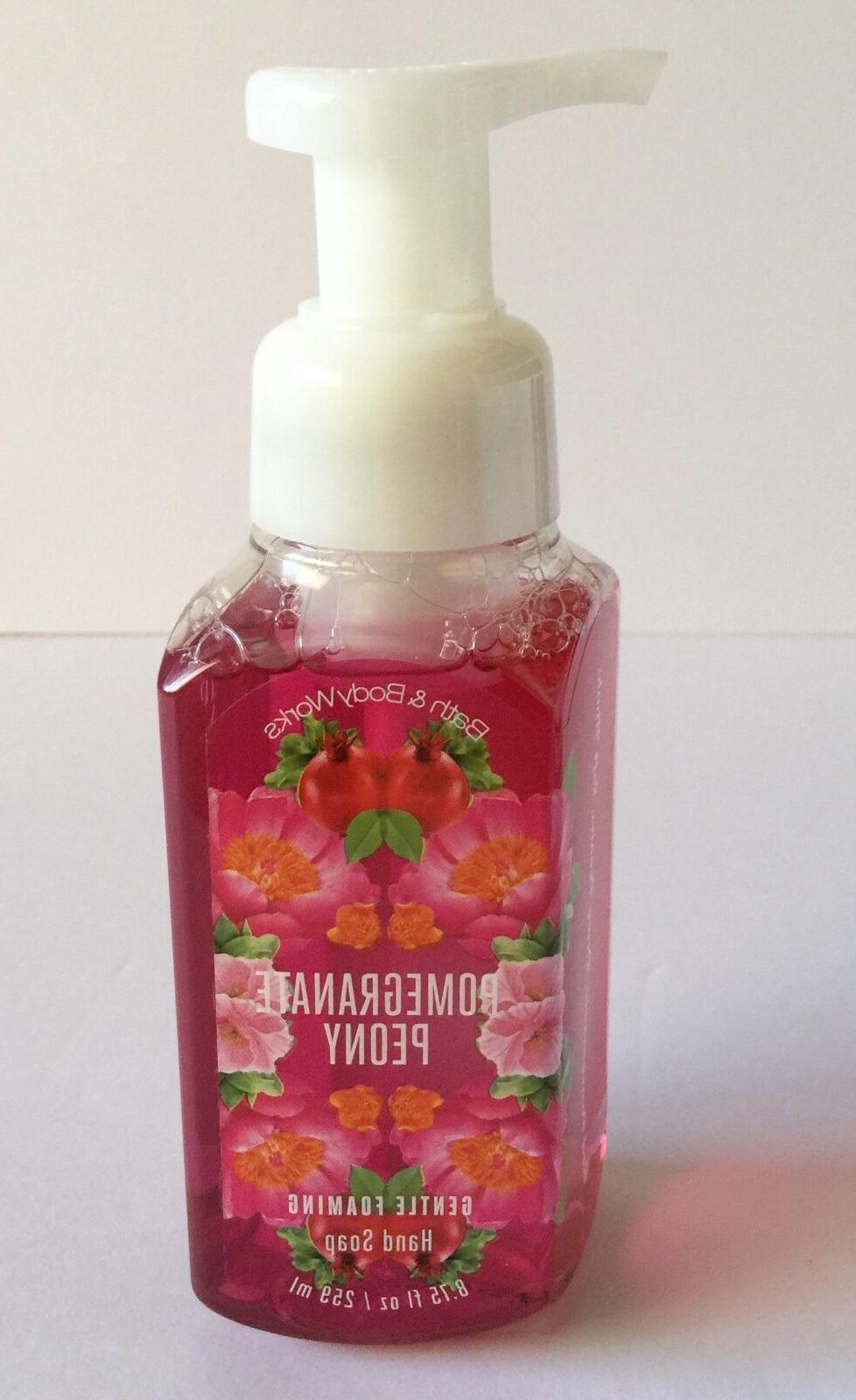 bath body works pomegranate peony foaming liquid