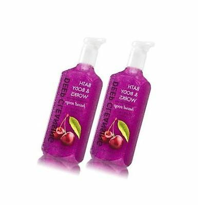 Bath and Body Works Black Cherry Cleansing