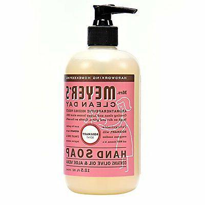 Brand New Hand Soap, Rosemary, Fluid Ounce
