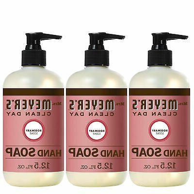 brand new mrs meyers hand soap rosemary