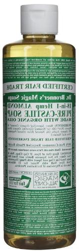 Dr Bronners Magic Soap All One Csal16/76116 16 Oz Almond Dr.