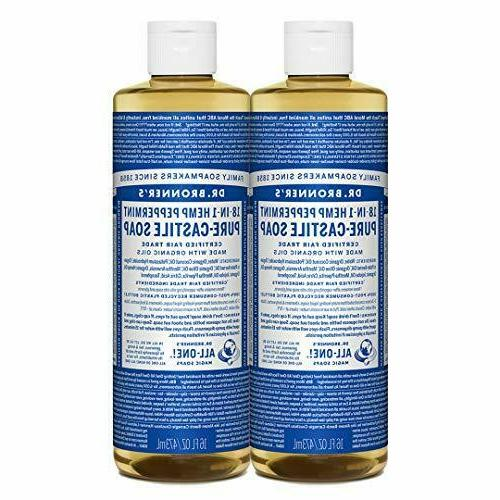 Dr Bronners Magic Soap All One Cspe16/76516 16 Oz Peppermint