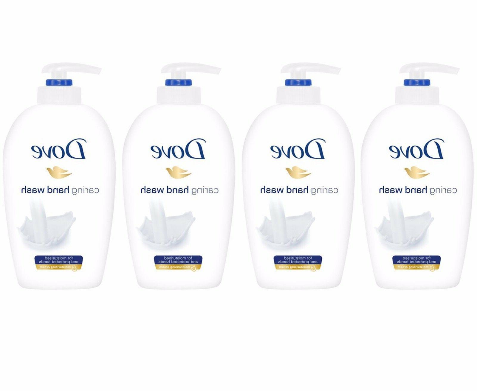 caring hand wash liquid soap
