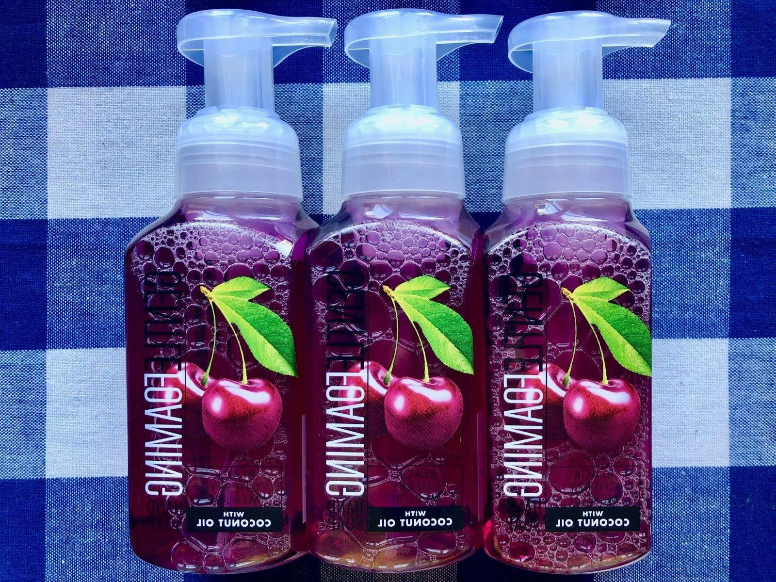 cherry merlot gentle foaming hand