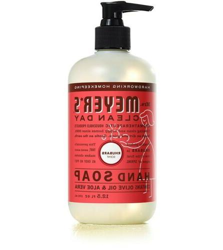 Mrs. Meyer's - Clean Day Liquid Hand Soap Rhubarb - 12.5 oz.