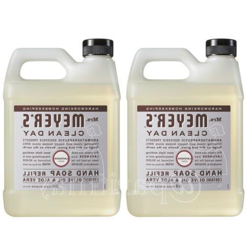 clean day liquid hand soap refill lavender