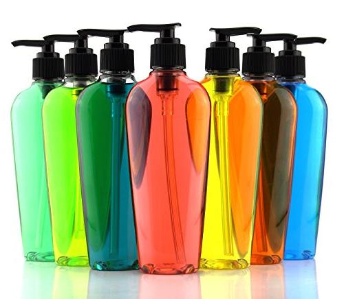 Lotion w/Black Dispensers for Lotion, Liquid Baby Care, Sanitizer & More