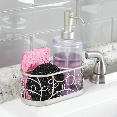 mDesign Decorative Kitchen Countertop Liquid Hand Soap