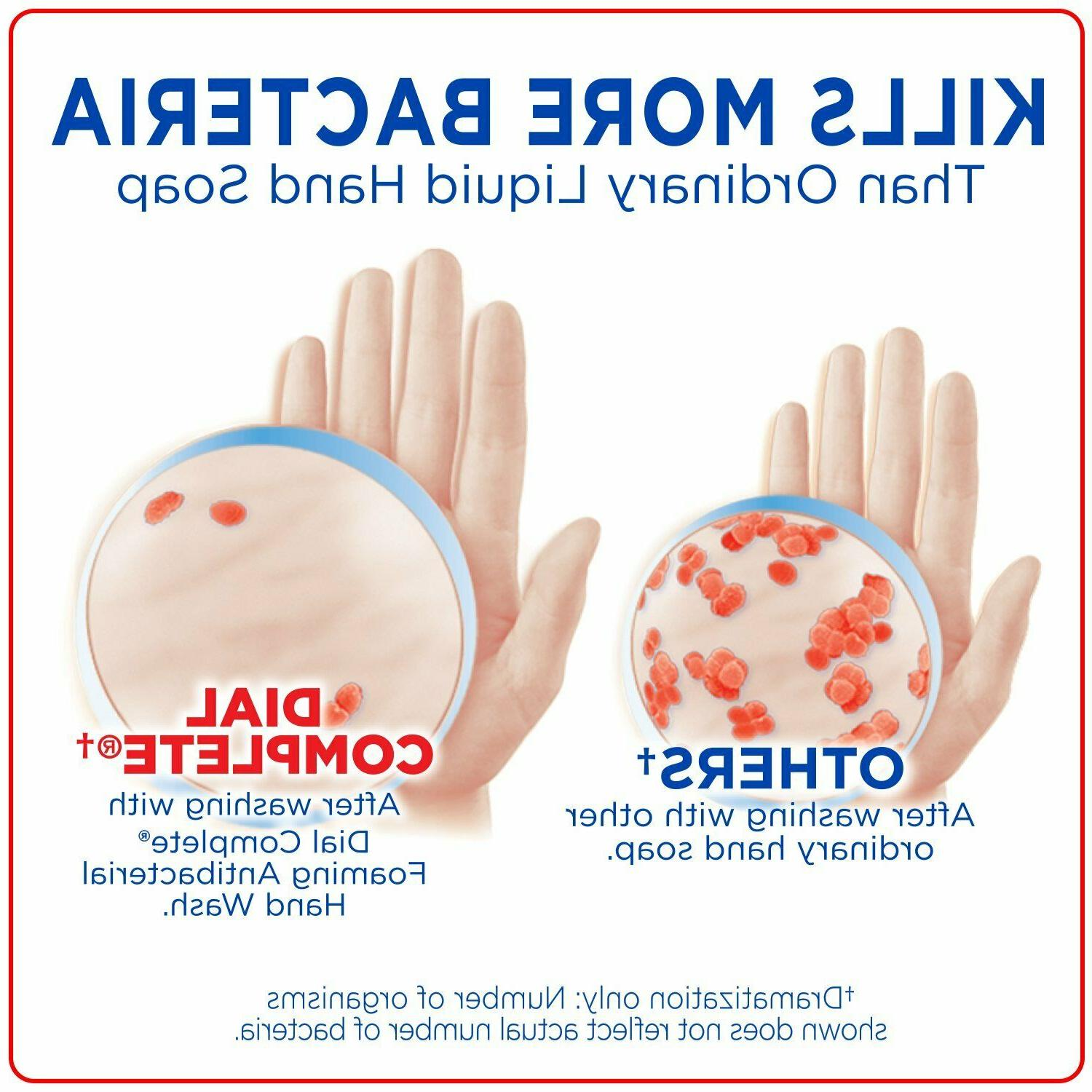 Dial Complete Antibacterial Hand Soap, 2-Scent Pack, Spring