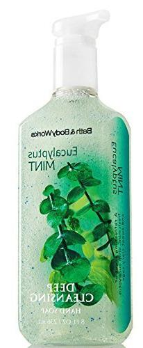 EUCALYPTUS MINT - deep cleansing hand soap BATH & BODY WORKS