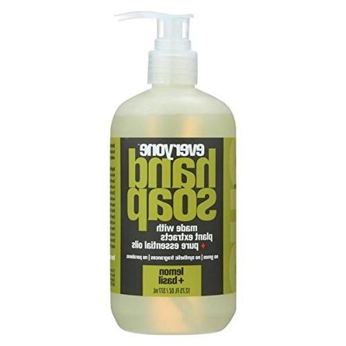 everyone lemon basil hand soap
