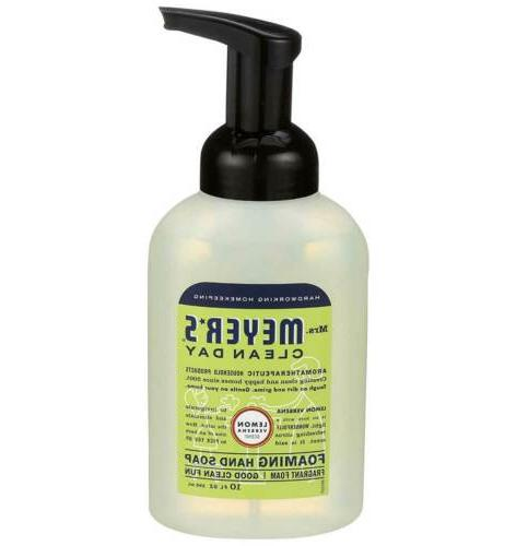 Mrs. Meyer's Foaming Hand Soap, Lemon Verbena, 10 Fluid Ounc